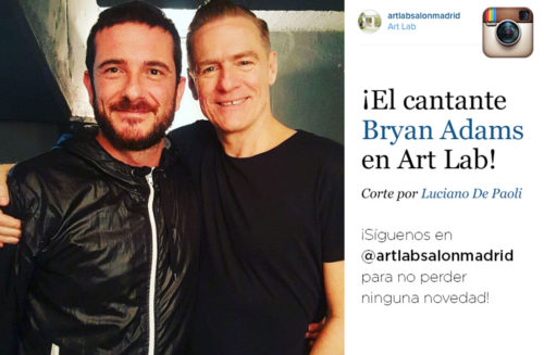 Bryan Adams en Art Lab