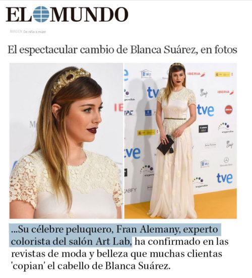 El espectacular cambio de Blanca Suárez
