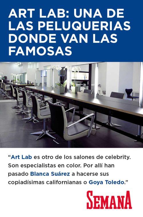 Art Lab una peluqueria donde van las famosas