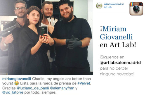 Miriam Giovanelli en Art Lab