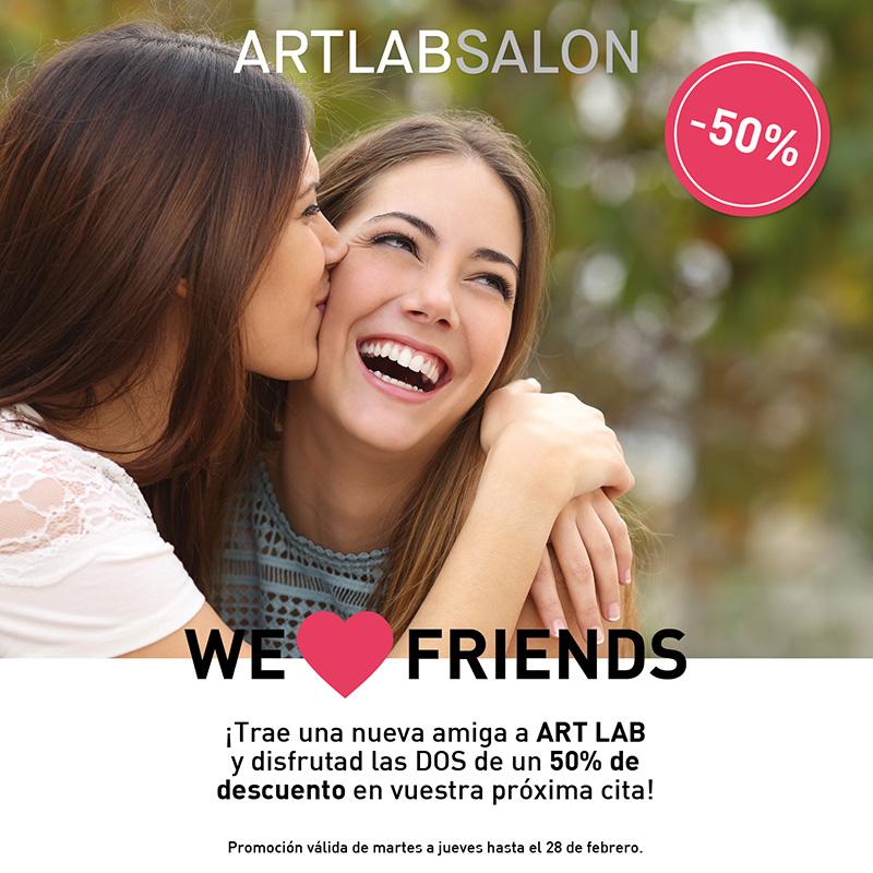 We Love Friends – Art Lab