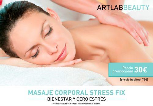 Masaje corporal stress fix