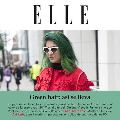 GREEN HAIR – FRAN ALEMANY