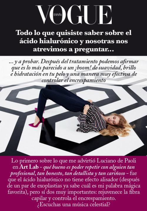 ÁCIDO HIALURÓNICO – LUCIANO DE PAOLI