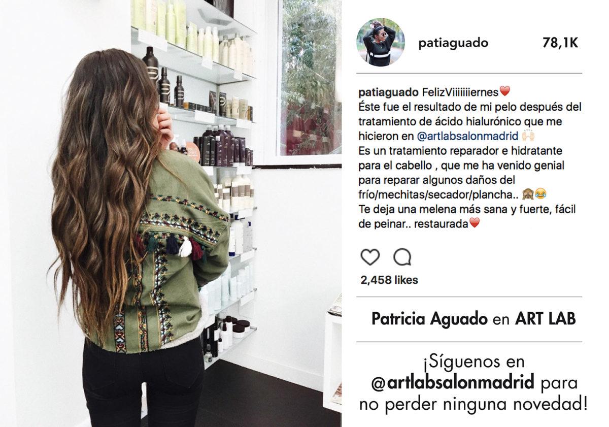 PATRICIA AGUADO EN ART LAB