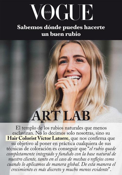VICTOR LATORRE – HAIR COLORIST DE ART LAB EN VOGUE