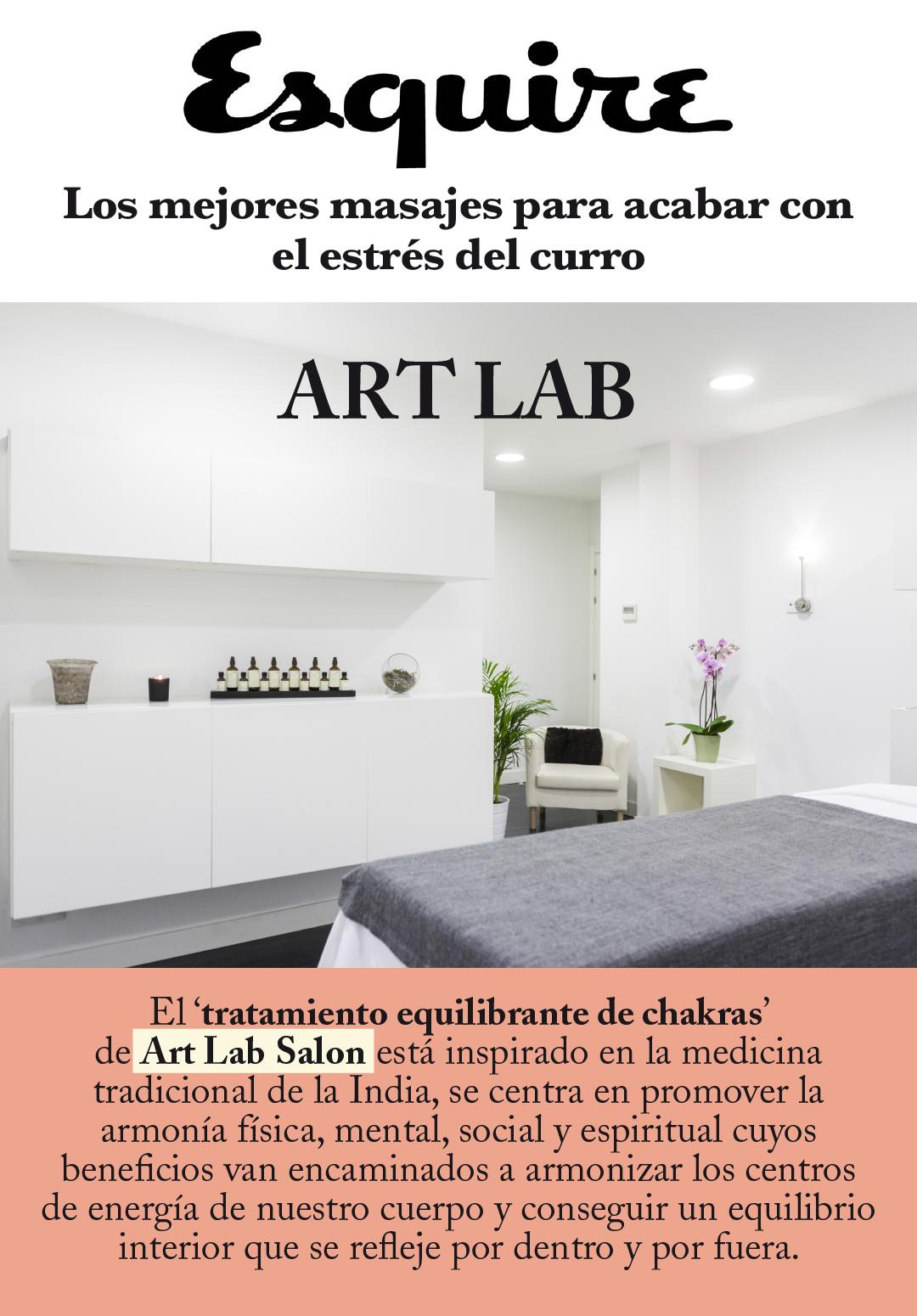 ART LAB en ESQUIRE