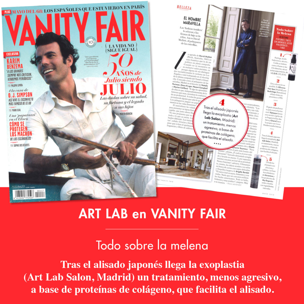 Art Lab en Vanity Fair